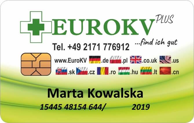 Karta ubezpieczeniowa Eurokv.pl